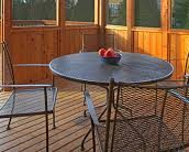 Use Outdoor Furniture for Allergy-Free Patio Dining